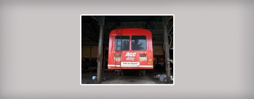 Maharashtra-MSRTC-Ordinary Bus Advertisement, Book ads on